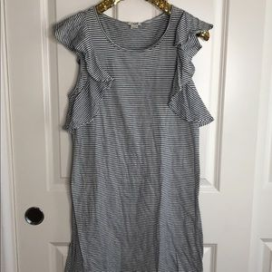 J. Crew stripe dress